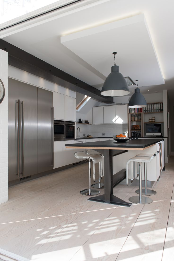 23 best kitchen images on pinterest kitchen designs kitchen hamilton king bespoke plywood formica and stainless steel kitchen www hamiltonking com
