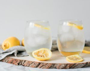 Simple, delicious recipe for creating a Sparkling Spiked Lemonade with Powell & Mahoney Craft Cocktail Mixers. #craftyourcocktail