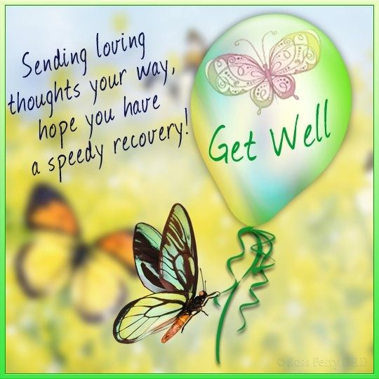 Get Well Soon Messages to Write in a Card