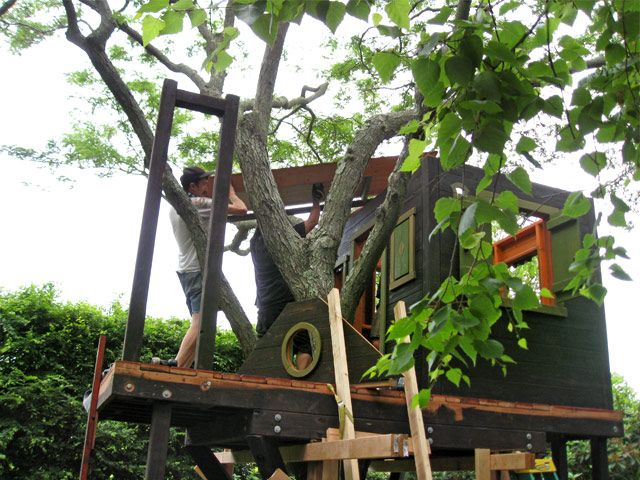 Barbara Butler-Extraordinary Play Structures for Kids -Long Island Tree House