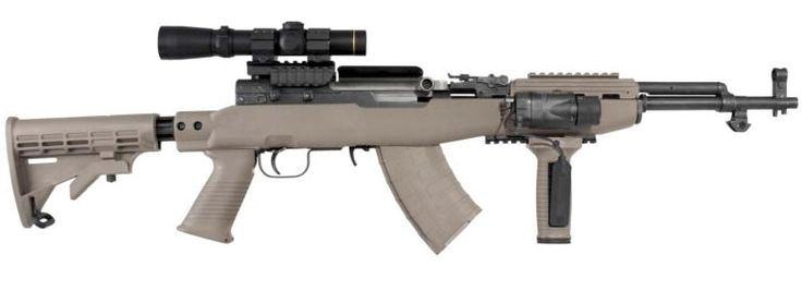 AR15s are becoming harder to find. This is another good alternative and much cheaper. Tapco Intrafuse SKS Rifle Stock System with Rail