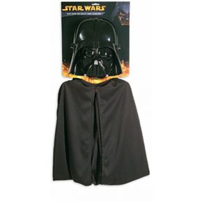 Star Wars Darth Vader Child Cape and Mask Costume Kit / Wally's Party Factory #starwars #childcape