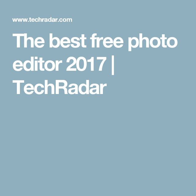 106 best photography images on pinterest art photography artistic the best free photo editor 2017 techradar fandeluxe Choice Image