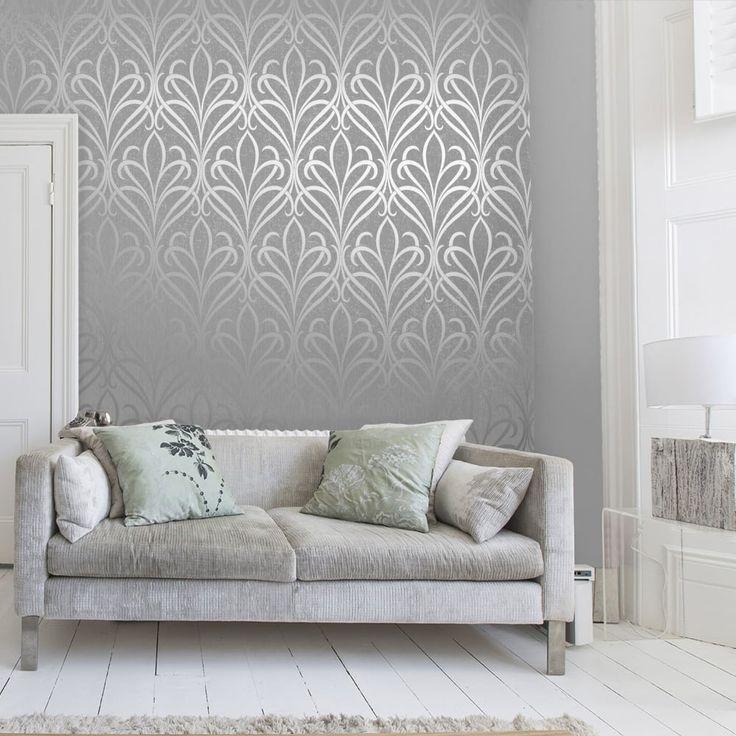 Bedroom Ideas Damask best 25+ grey damask wallpaper ideas only on pinterest | damask