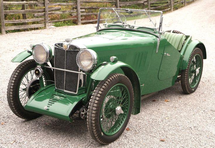 1933 MG J2 Roadster - Silodrome