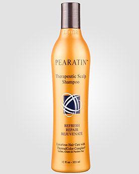 Loma Organics Шампунь «Здоровая кожа головы» для всех типов волос PEARATIN THERAPEUTIC SCALP. 355 мл.