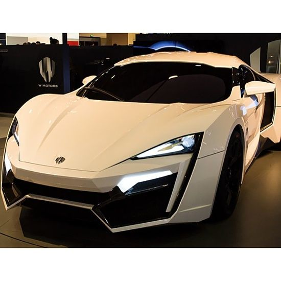 The new new Lykan Hyper Sport. This supercar will set you back a cool