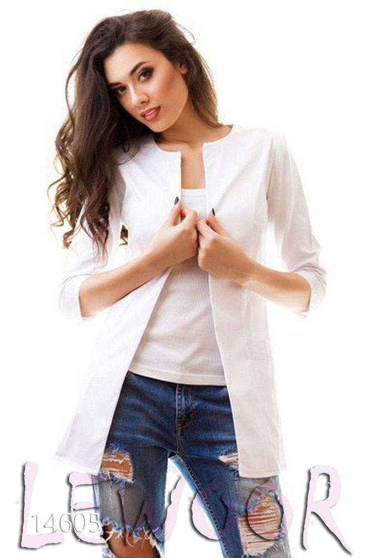 Практичный пиджак с накладными карманами - купить оптом и в розницу, интернет-магазин женской одежды lewoor.com