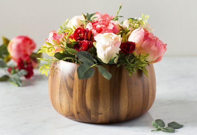 20-Minute DIY: Faux Flower Arrangement | Wayfair.ca