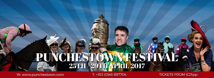 Punchestown racecourse website and social media