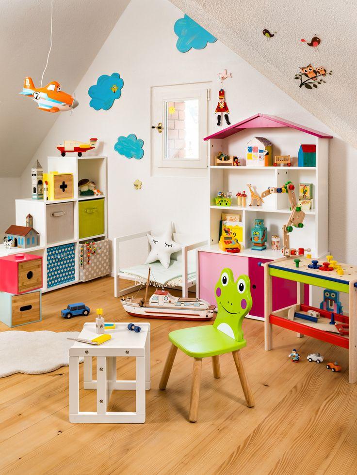 Micasa Kinderzimmer mit Stuhl und Bank aus dem Programm SMART