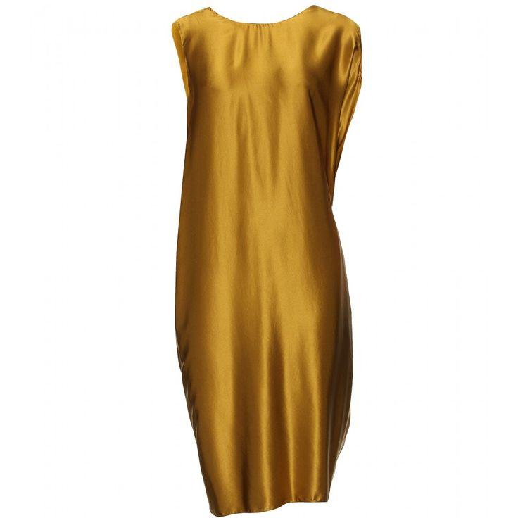 Lanvin - Draped silk dress