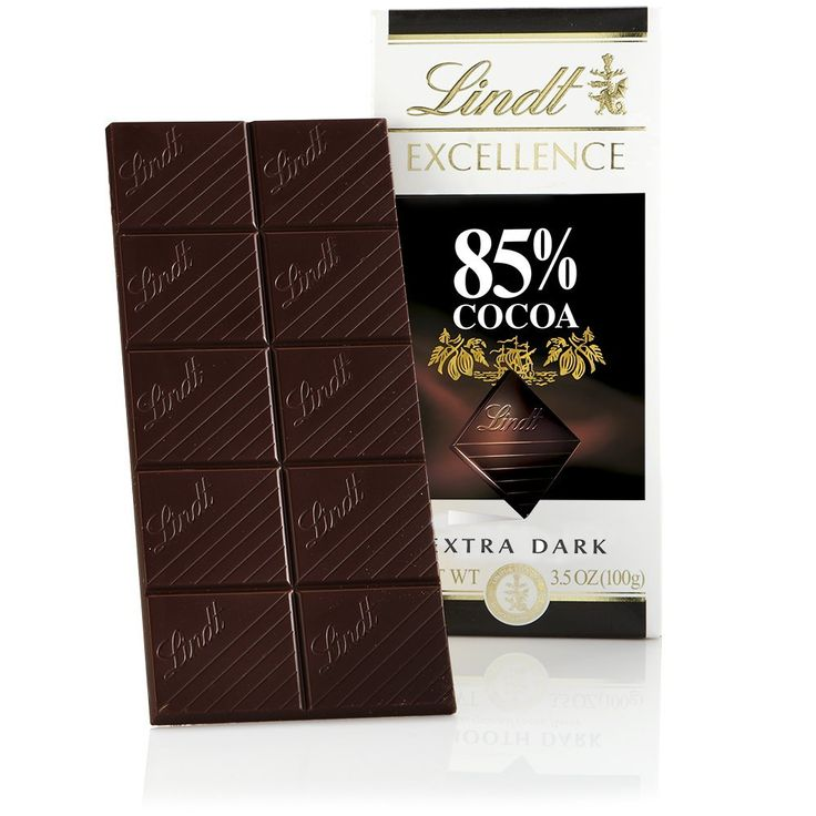 Lindt Excellence Extra Dark Chocolate 85% Cocoa, 3.5-Ounce Packages (Pack of 12) ** New and awesome product awaits you, Read it now : : Amazon fresh