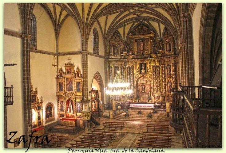 Interior de la Colegiata de la Candelaria.