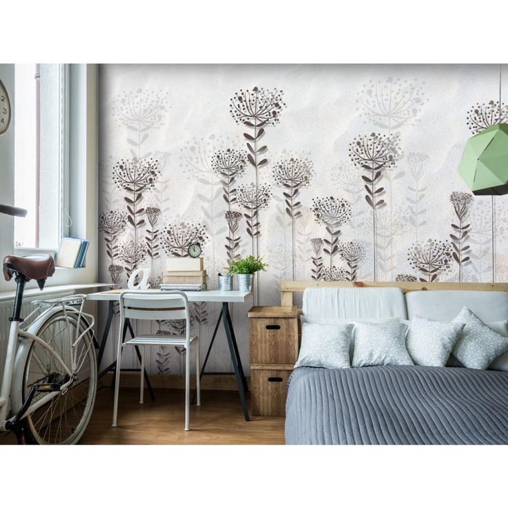 Tapete mit Blumen ist eine zeitlose Wanddekoration  #tapeten #tapete #blume #blumen #wallpapers #home #decor #dekoration #wanddekoration #artgeist