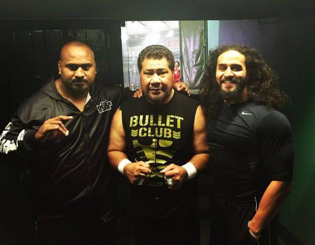 Bad Luck Fale, Haku , Tama Tonga