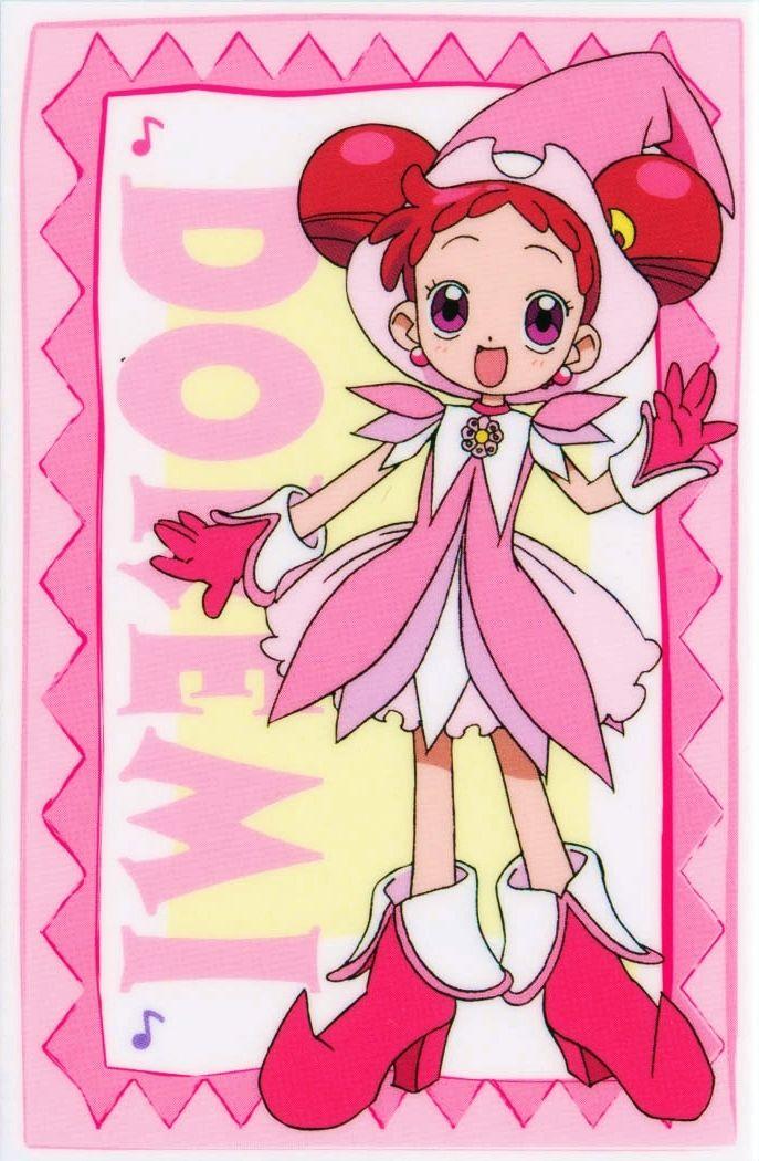 Tags: Anime, Witch, Ojamajo DoReMi, Harukaze Doremi, Witch Hat, Hair Buns, Rhythm Tap
