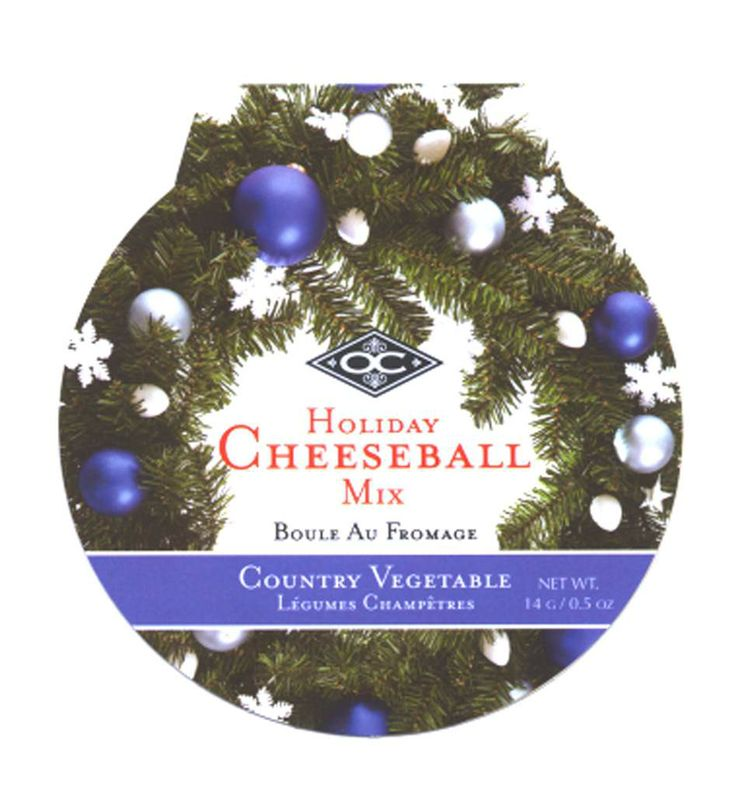HOLIDAY CHEESEBALL/COUNTRY VEGETABLE