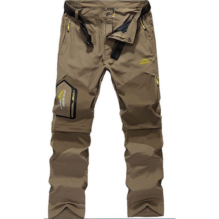GITVIENAR Men's Casual Windproof Quick Drying Convertible Multi-pocket Hiking Climbing Walking Trousers Pants: Amazon.co.uk: Sports & Outdoors