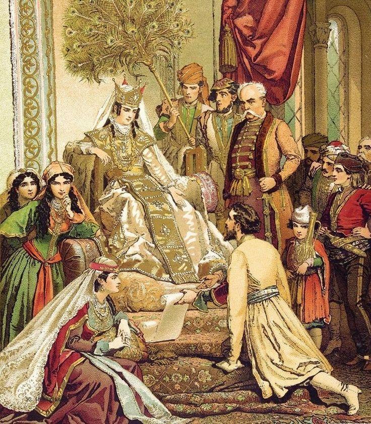 """mulheres guerreiras que mudaram a História - Tamar da Geórgia (séculos XII e XIII) Filha do rei Giorgi III, Tamar possuía tamanha inteligência que foi reconhecida por seu pai como regente adjunta e herdeira legítima de seu governo.ela derrotou quase todos os Estados islâmicos vizinhos e sua reputação cresceu e ela chegou a ser considerava por seu povo como """"Rei dos Reis e Rainha das Rainhas"""". Mega Curioso"""