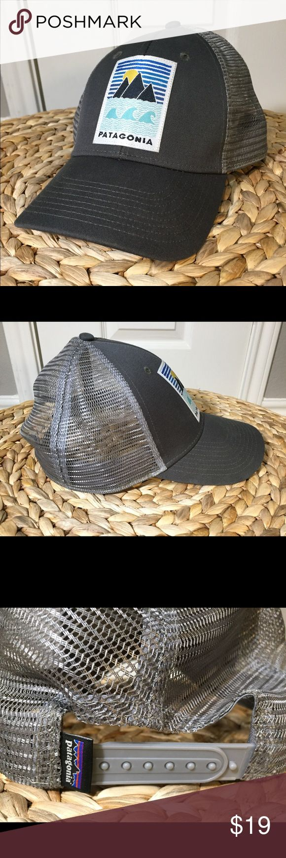 Patagonia SnapBack Hat Grey Patagonia brand SnapBack hat. Excellent condition - work twice. Patagonia Accessories Hats