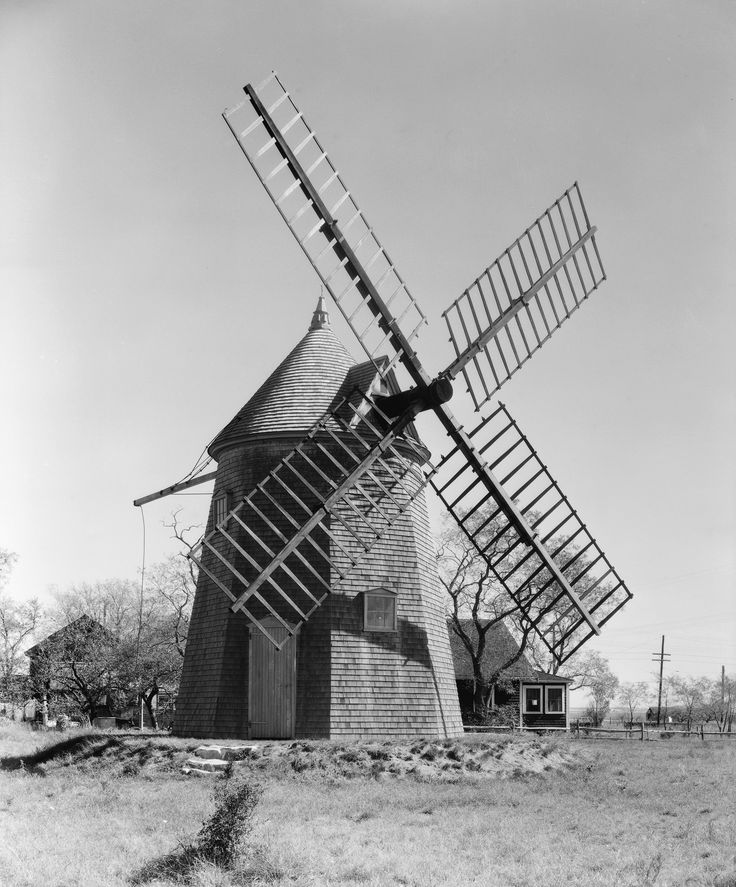 Windmill Cape Cod Part - 18: Eastham 1935 - Eastham Windmill, Thought To Be The Oldest Windmill On Cape  Cod.