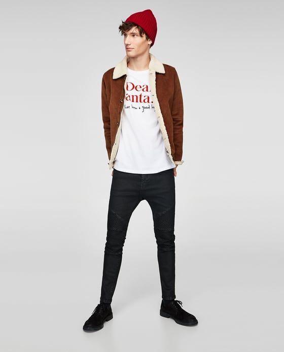 Image 1 of CHRISTMAS PRINT T-SHIRT from Zara