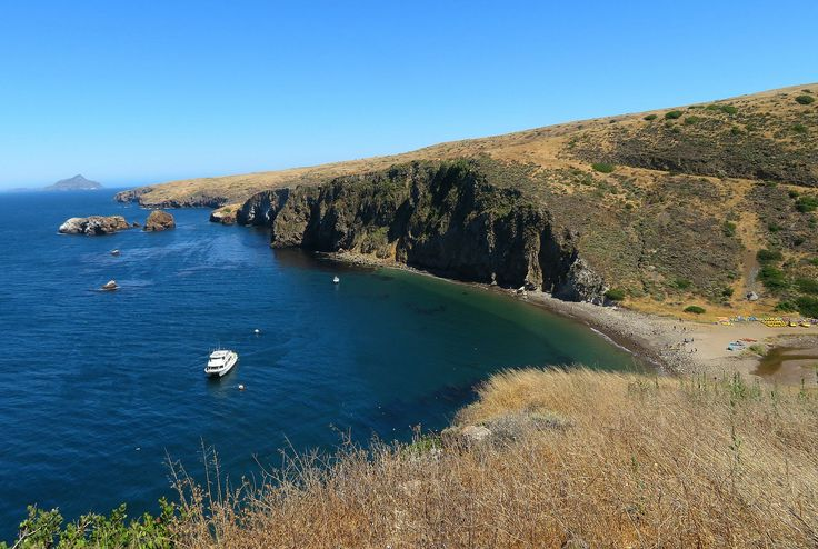 Scorpion Landing on Santa Cruz Island ~ 7 Unique Things to Do in Ventura County with Kids
