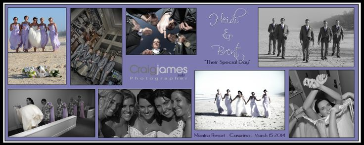 Heidi & Brents special day .