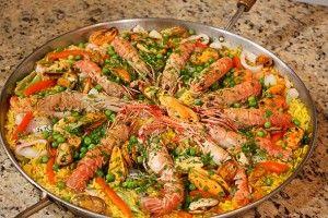 Spanish Paella . The Easy Way