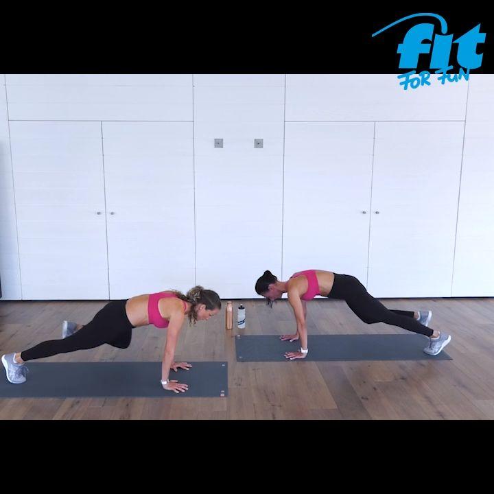 10 Minuten Workout für zu Hause