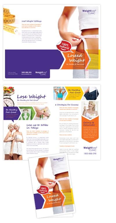 90 best Brochure half fold images on Pinterest Advertising - diabetes brochure template