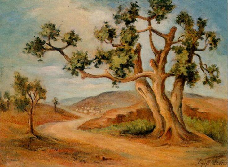 .:. Ζέπος Εμμανουήλ – Emmanuel Zepos [1905-1995]Δέντρο, περ. 1935