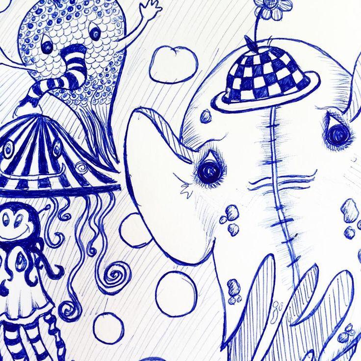 #Kreativia #pyssel #rita #doodle #skapa #måla #skapamedbarn #kalas #fritid #aktivitet #bläckpenna