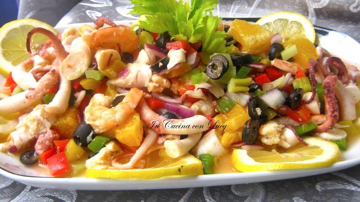 Insalata di polipo terra e mare. L'insalata di mare è un piatto a base di pesce…