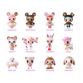 #tokidokiholiday Donutella and her Sweet Friends Blind Box Mini Figures