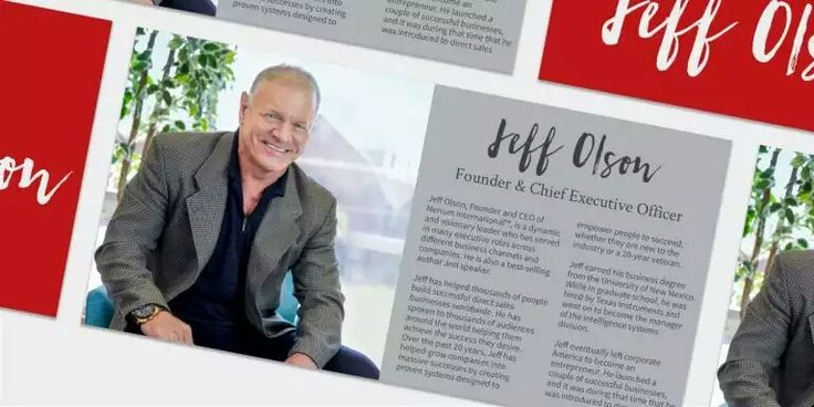 Founder and CEO of Nerium International