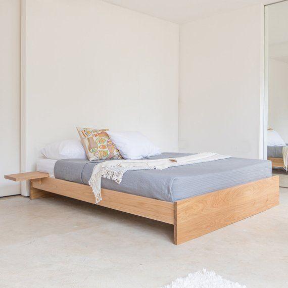 Enkel Platform Wooden Bed Frame No Headboard By Get Laid Beds