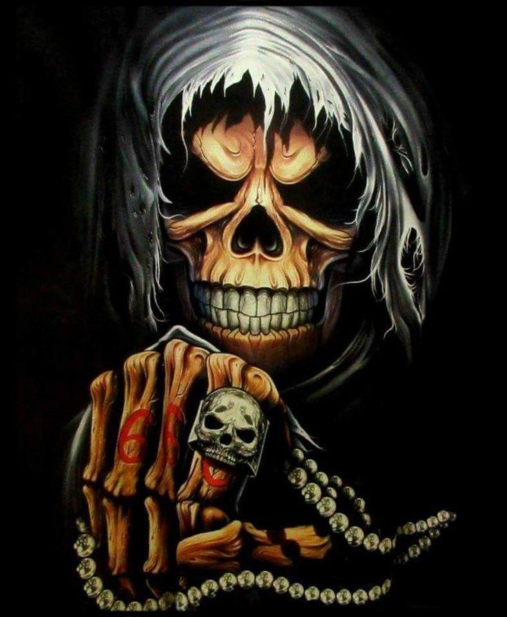 Картинки с черепами и скелетами