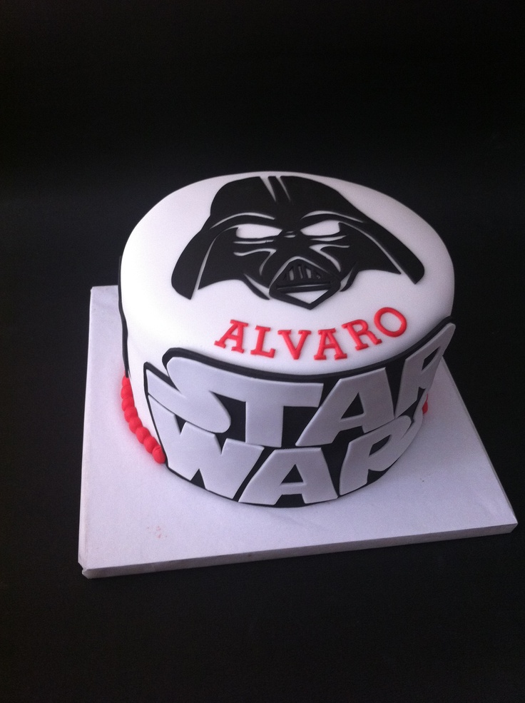 Tarta Darth Vader, Star Wars elaborada por TheCakeProject en Madrid