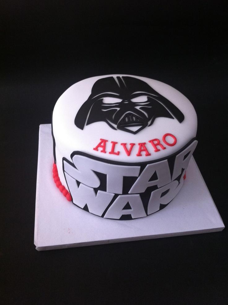 Pin by ela dudziak on cakes star wars cake star wars
