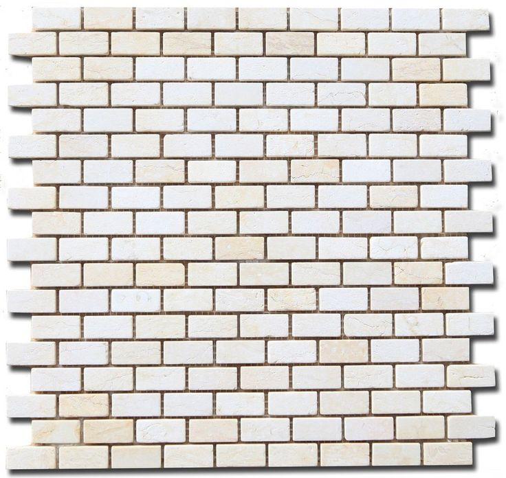 Marmor Mosaik Fliese Creme Beige Botticino Wand und Boden Mosaik 30x30 cm in Heimwerker, Bodenbeläge & Fliesen, Fliesen | eBay