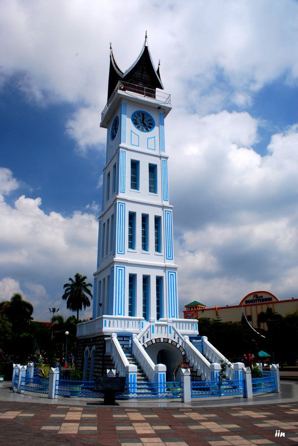 Jam Gadang (Big Clock) - Bukittinggi West Sumatra, Indonesia