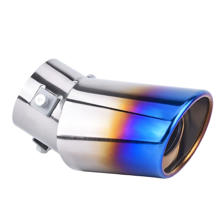 DSYCAR Universal Stainless steel Car Exhaust Pipe Muffler covers Car styling For Fiat Audi Ford 2 Bmw VW Honda Toyota skoda opel