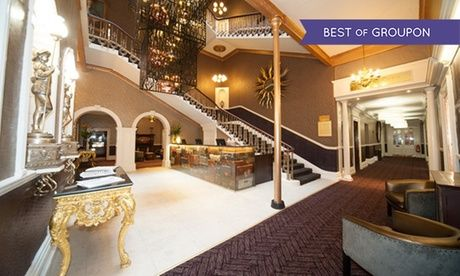 4* Hotel in Chester Chester: 1 Night for Two with Breakfast and Drinks Voucher at Hallmark Hotel The Queen  >> BUY & SAVE Now!