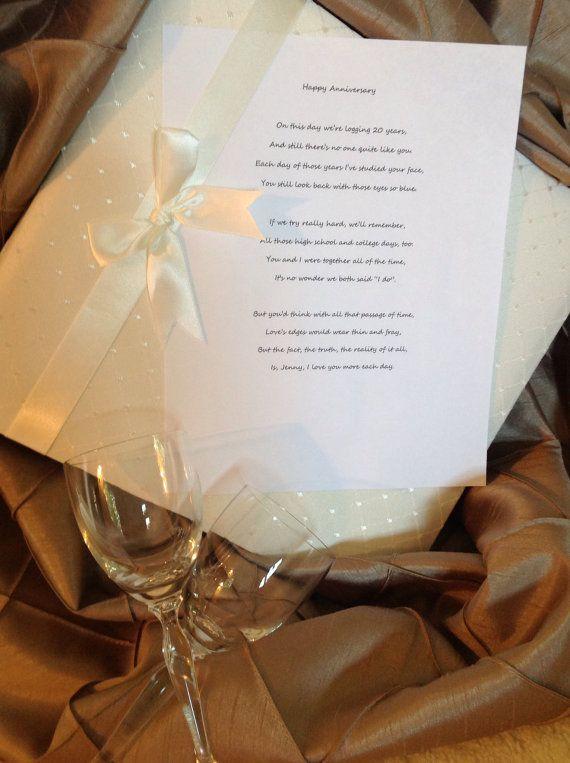 Wedding Anniversary Ideas Wedding Anniversary Gifts by WitandW, $20.00