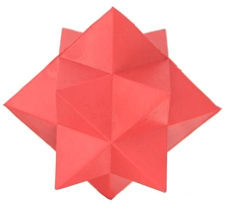 Look at this cool Red Pointy Ball!