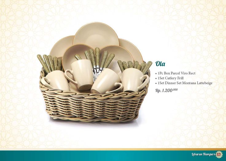 Lebaran Parcel - Ola. Click www.informa.co.id for more collection.