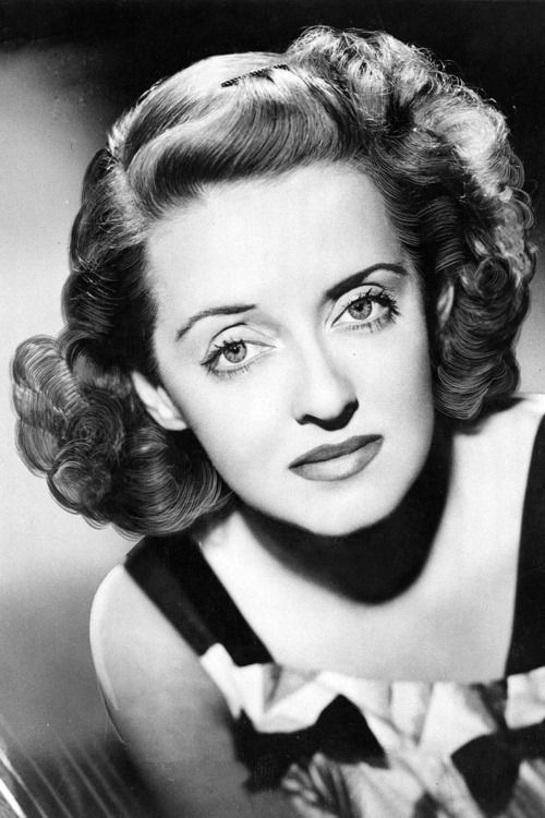 Bette Davis. She's not wearing jewelry, but I love this photo.