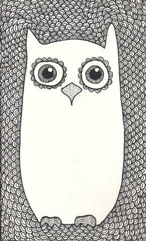 cute owl illustration